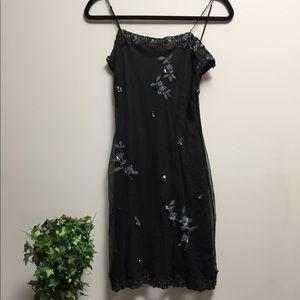 Betsy Johnson beaded dress